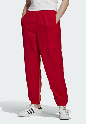 Tracksuit bottoms - scarlet/semi solar red