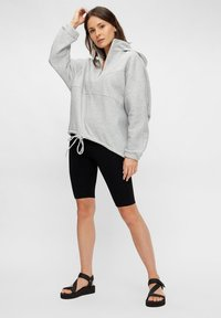 Pieces - Hoodie - light grey melange - 1