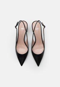 HUGO - INES - Classic heels - black - 5