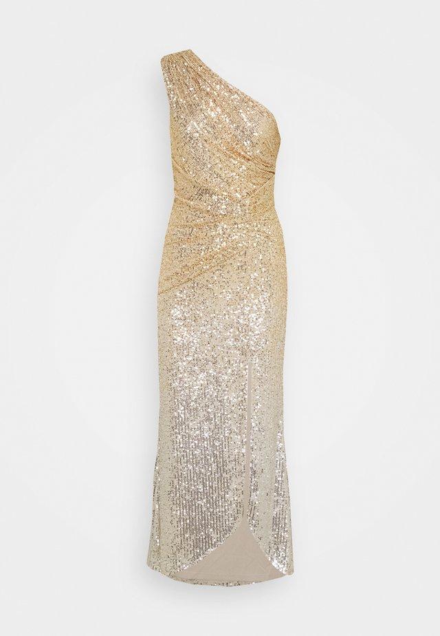 FERGIE MAXI - Festklänning - gold/silver
