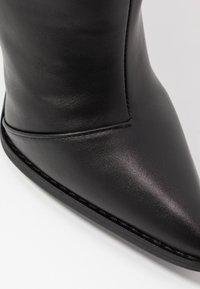 RAID - PLEXI - Laarzen met hoge hak - black - 2