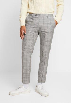 HOMEWOOD - Spodnie materiałowe - grey