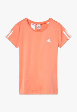 TEE - T-shirt imprimé - orange