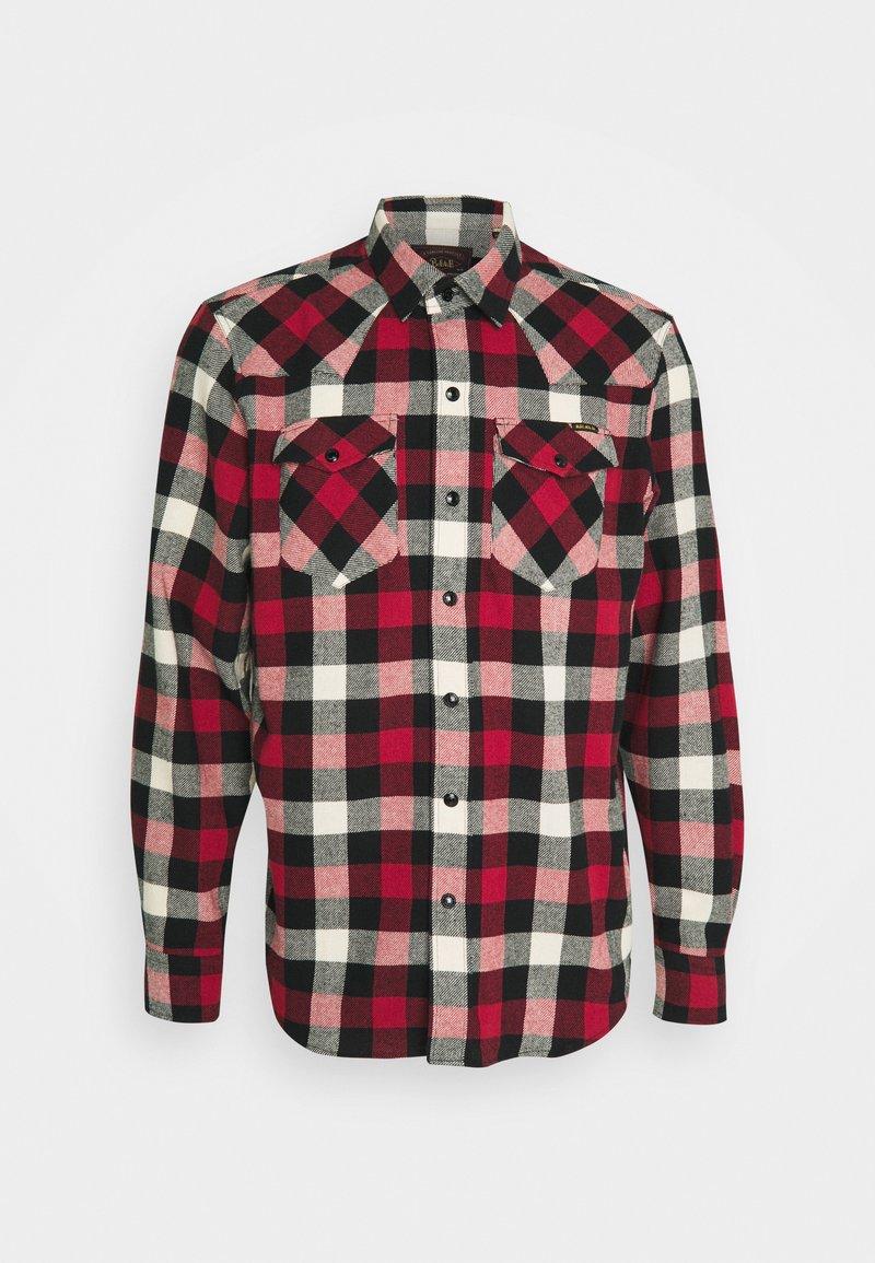Belstaff - WESTERN - Shirt - off white/red/black