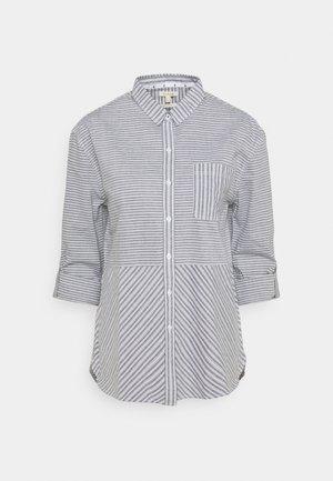 LONGSHORE  - Button-down blouse - cloud/navy