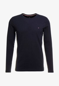 Tommy Hilfiger - STRETCH SLIM FIT LONG SLEEVE TEE - T-shirt à manches longues - blue - 3