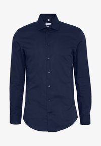 Seidensticker - BUSINESS KENT - Formal shirt - dark blue - 4