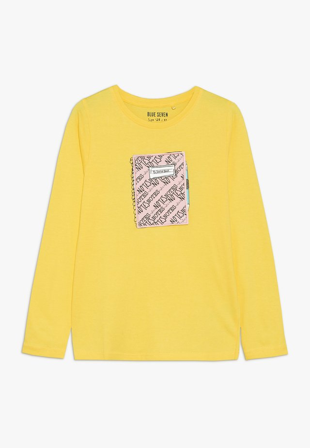 Bluzka z długim rękawem - gelb