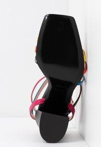 MSGM - DONNA WOMANS - High heeled sandals - multicolor/black - 6