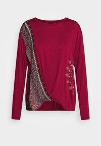 Desigual - MARSELLA - Bluzka z długim rękawem - borgoña - 3