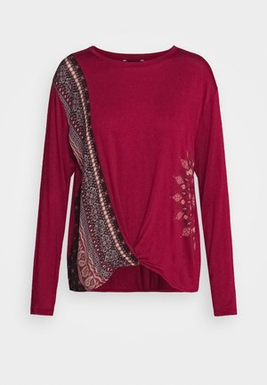 MARSELLA - Long sleeved top - borgoña