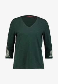 s.Oliver - 3/4 ARM - Langærmede T-shirts - emerald - 3