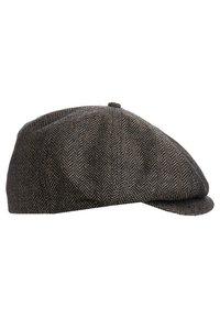 Brixton - BROOD - Muts - brown/khaki herringbone - 5