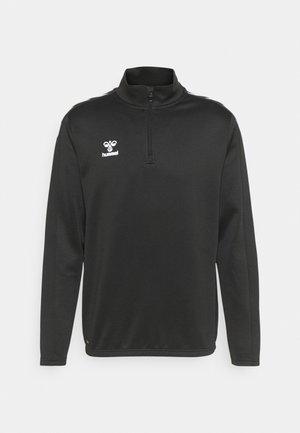 CORE XK ZIP  - Long sleeved top - black
