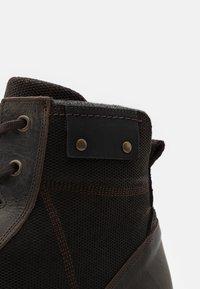 River Island - Šněrovací kotníkové boty - brown - 5