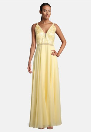 Cocktail dress / Party dress - mellow yellow