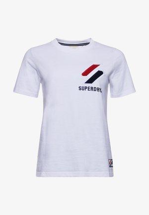 CHENILLE  - T-shirt print - optic