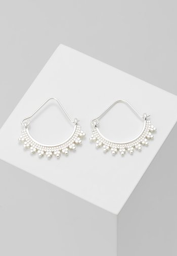 EARRINGS KIKU - Earrings - silver-coloured