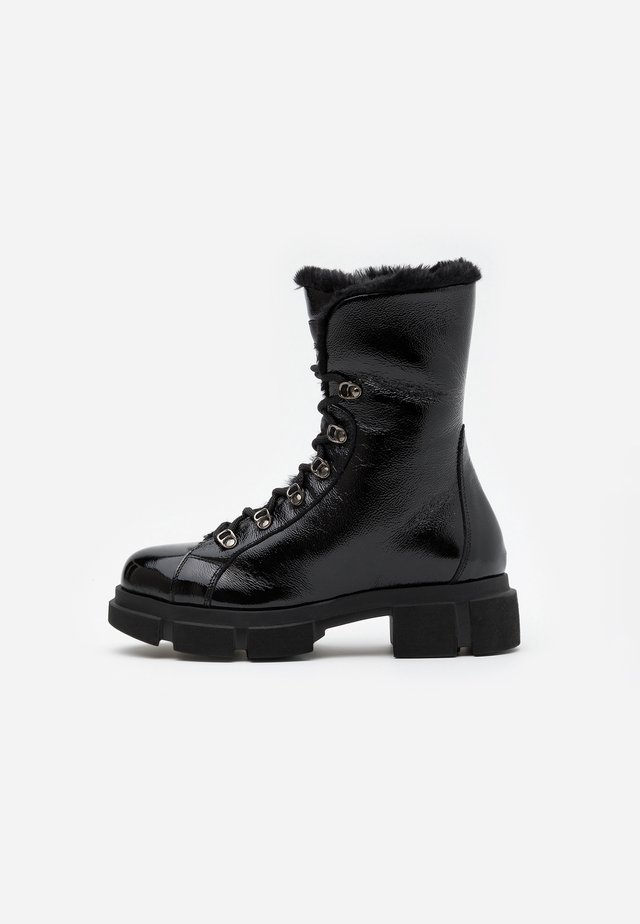 DEASY - Bottines à lacets - nero