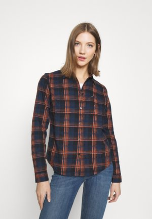REGULAR FIT - Button-down blouse - washed blue