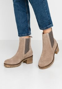 Tamaris - Classic ankle boots - taupe - 0