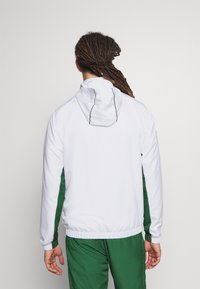 Lacoste Sport - SET TENNIS TRACKSUIT HOODED - Dres - white/green - 5