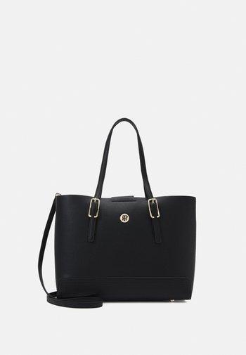 HONEY TOTE SET - Handbag - black