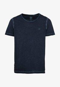 camel active - KURZARM  - Basic T-shirt - dark blue - 5