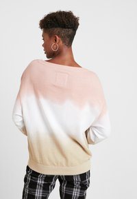 Hollister Co. - OVERSIZED CREW - Sweatshirt - pink ombre - 2