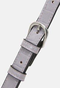 Lindex - BAG ELLA CROCO - Handbag - lilac - 3