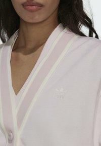 adidas Originals - TENNIS LUXE CARDIGAN ORIGINALS - Chaqueta de punto - pearl amethyst - 2