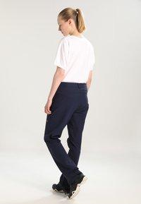 Jack Wolfskin - ACTIVATE WOMEN - Outdoor trousers - midnight blue - 2