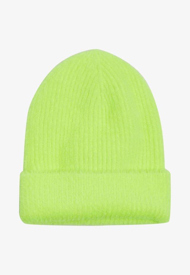 Bonnet - neon yellow