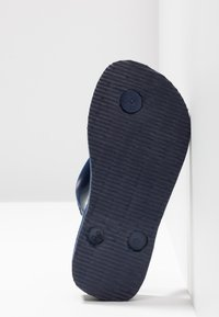 Havaianas - BRASIL LOGO - Pool shoes - Navy blue - 4