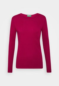 Benetton - Long sleeved top - burgandy - 4