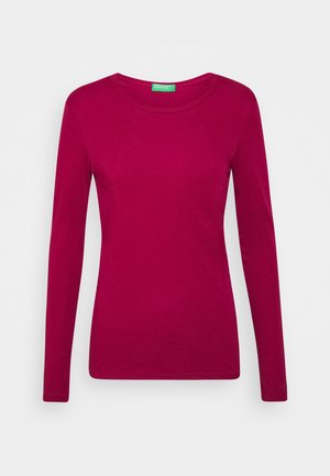 Long sleeved top - burgandy