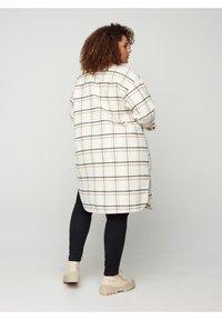 Zizzi - Classic coat - white - 1