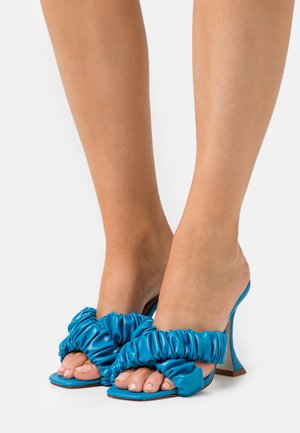 LYANNA - Heeled mules - blue