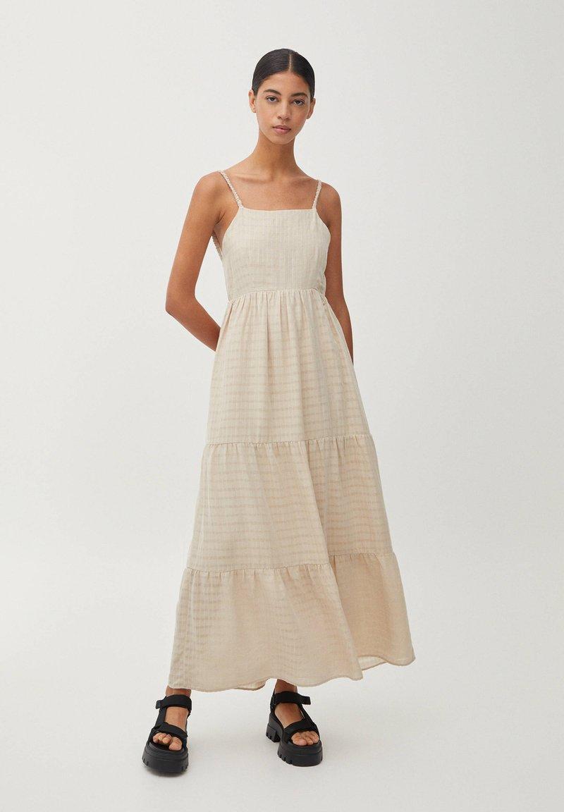 PULL&BEAR - Maxi dress - beige