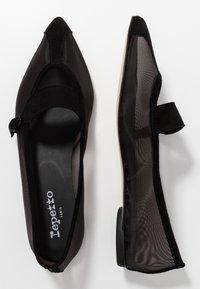 Repetto - MYLEN - Ankle strap ballet pumps - noir - 3