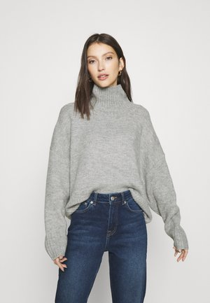 FLORA - Jumper - grey melange