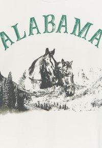 Jaded London - ALABAMA HORSE - T-shirt imprimé - white - 2