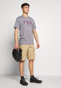 Fox Racing - SHIELD TECH TEE - T-Shirt print - grey - 1