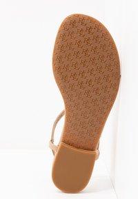 Lauren Ralph Lauren - ELMSTEAD - T-bar sandals - nude - 6