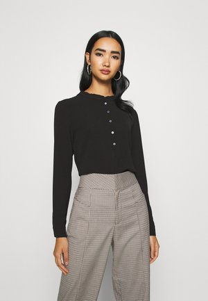 JDYMILO PLACKET  - Blouse - black