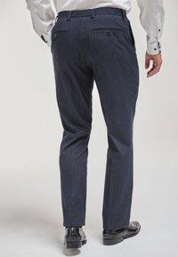 Next - Pantaloni eleganti - mottled blue - 1