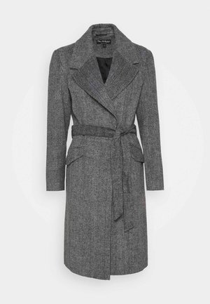 CLASSIC BELTED ROBE - Classic coat - grey marl