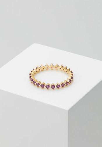 ANILLO BIRD - Ring - gold-coloured/purple