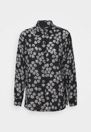 Camicia - black/off-white