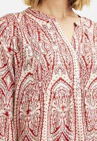 Smith&Soul - Shirt dress - burgundy print - 3